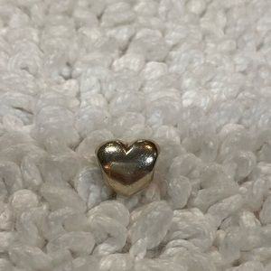 Pandora Solid Heart Charm RETIRED